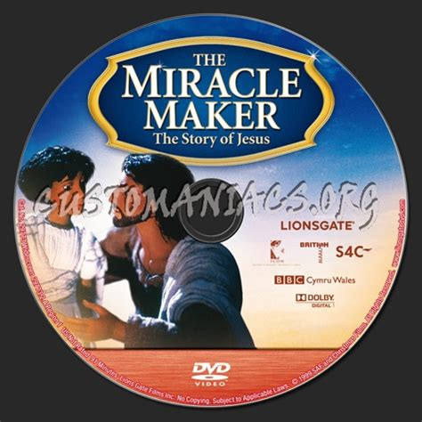 The Miracle Maker Free The Miracle Maker Dvd Label Dvd Covers Labels By Customaniacs Id 157533 Free