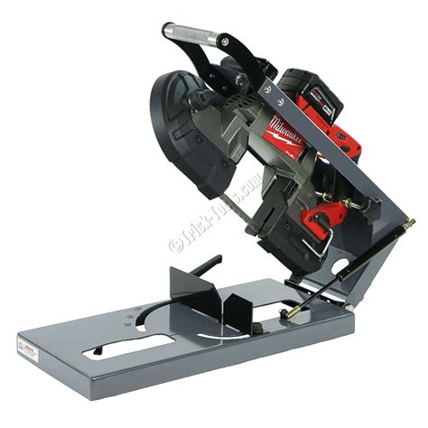 Portable Band Saw Table by Ezcut Jig Ez Cut Jig For Milwaukee Portaband