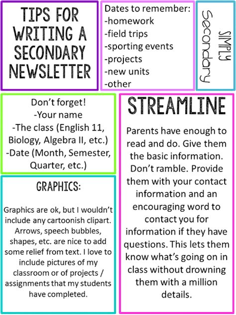 high school newsletter template pin by carolyn vaiana on high school ready