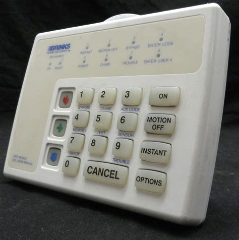 38x assorted brinks broadview security alarm keypads