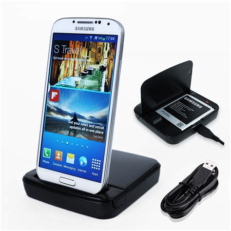 Batre Desktop Charger Samsung Galaxy S4 I9500 Original Battery for samsung galaxy s4 gt i9500 charging dock station desktop charger cradle ebay
