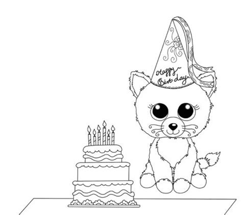 birthday themed coloring pages how to host a beanie boo themed birthday party