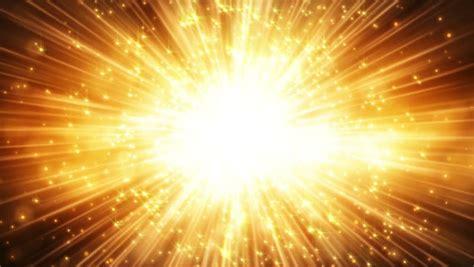 licht leuchten lights and shining gold loop background stock