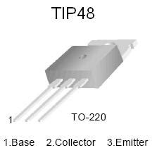 tip48 high voltage npn power transistor tip48 npn power transistor nightfire electronics llc