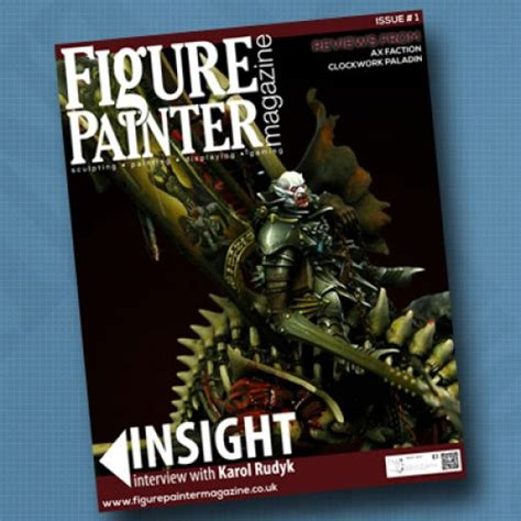 figure news and review magazine get some tips in new figure painter magazine