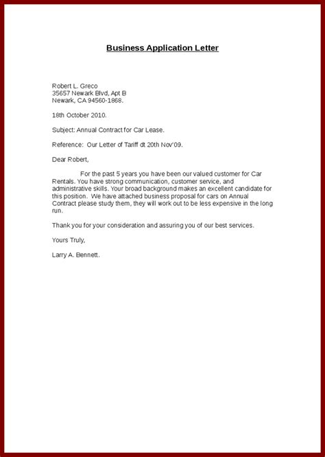 exle job application letter 1