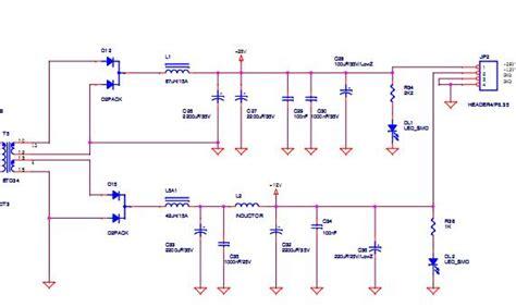 schema alimentatore switching alimentatore switching 150w progetto completo 2t forward