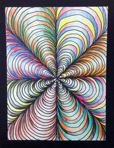 tutorial gambar optical art art ed central loves that little art teacher op art and