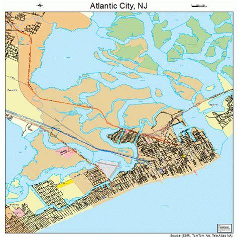 map of atlantic city nj 26 simple atlantic city new jersey map bnhspine