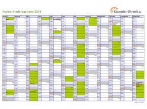 Kalender 2018 Zum Ausdrucken Ferien Niedersachsen Ferien Niedersachsen 2016 Ferienkalender Zum Ausdrucken
