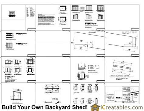 5x7 generator enclosure plans