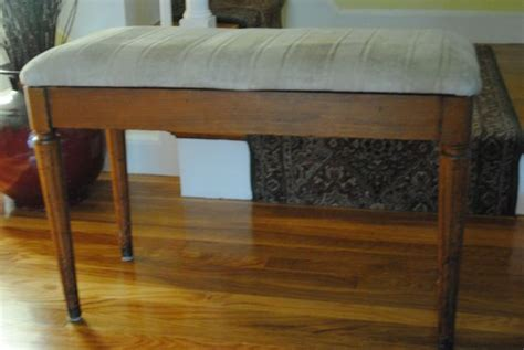 how to recover a piano bench the chronicles of home tutorial how to reupholster a