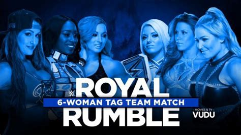 match card template tag team move six tag team match to royal rumble kickoff