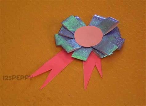 How To Make A Paper Badge - crafts project ideas with tutorials 123peppy