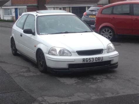 honda civic modified white honda civic ek vtec modified white dudley dudley