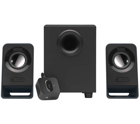Logitech Z 213 Speaker 2 1 Hitam buy logitech z213 2 1 pc speakers free delivery currys