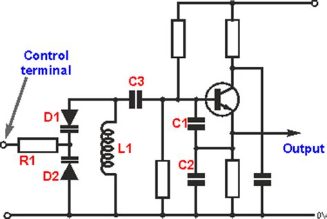 varactor oscillator circuit rf how to design a cheap sine wave generator up to 200 mhz electrical engineering stack