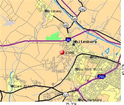 whitesboro map 13492 zip code whitesboro new york profile homes