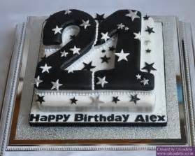 Cake on cake number cake perfect for this young man in sharp black