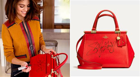 Coach Sweepstakes - coach handbag selena gomez style guru fashion glitz glamour style unplugged