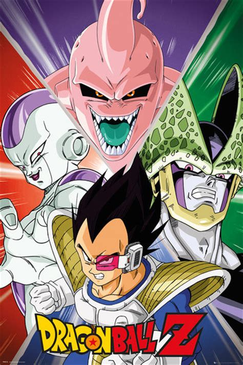 Mickey Mouse Doormat Dragon Ball Z Villains Poster Sold At Abposters Com