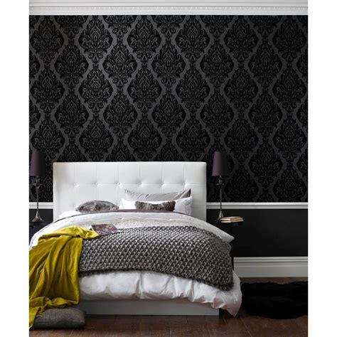 black removable wallpaper graham brown kinky vintage black removable wallpaper 50
