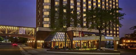 Hotels In Mississauga With Rooms by Map Hotel Novotel Toronto Mississauga Centre
