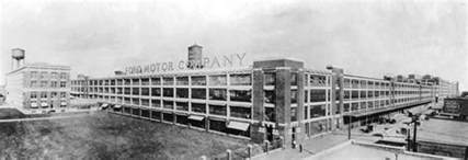 albert kahn highland park detroit ford automobile plant