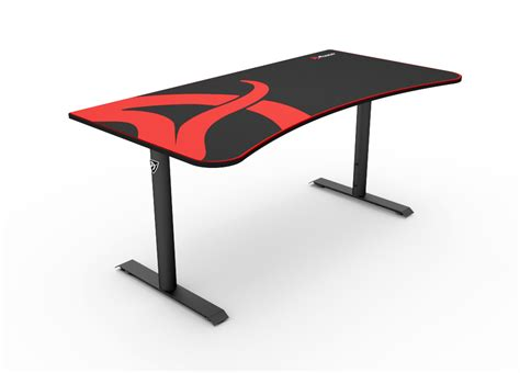 black gaming desk arena gaming desk arozzi