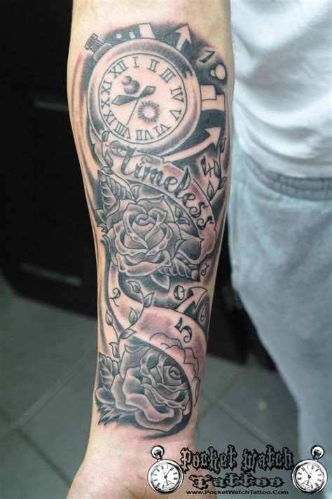 tattoo arm watch 16 best images about pocket watch tattoo on pinterest