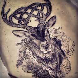 celtic stag tattoo design by adam sky rose gold s tattoo