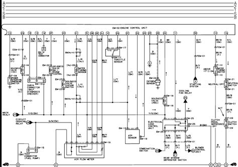 mazda 323 m air flow wiring diagrams wiring diagram with
