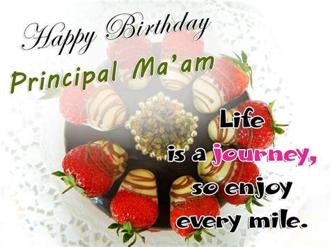 Happy Birthday Ma Am Quotes Happy Birthday Principal Ma Am