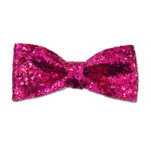 hot pink glitter pinup bow rockabilly hair bow ready to