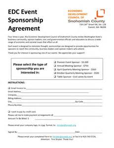 sponsorship contract template sponsorship agreement template for event sponsorship