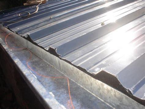 chapa de techo construcci 243 n de techo de chapa re subido hazlo tu