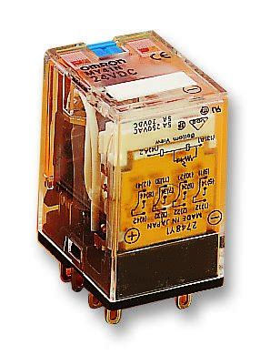 Relay Omron My4 12vdc omron industrial automation my4 12dcs power relay miniature 4pdt 12vdc in