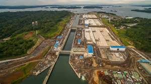 panama canal construction news