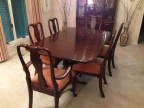 Ethan Allen Dining Room Set by Ethan Allen Dining Room Set With China Hutch