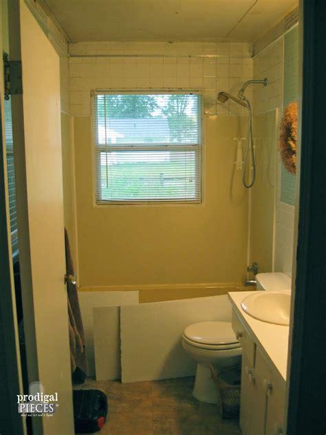 bathroom makeover diy farmhouse style prodigal pieces