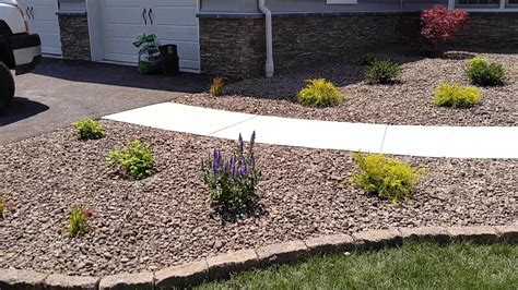 k and k landscaping low maintenance landscape design ideas for front yards in gettysburg s landscaping