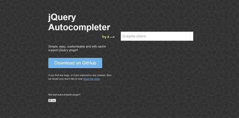jquery mobile autocomplete 20 best jquery autocomplete plugins jqueryhouse