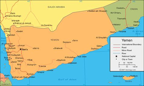 map of yemen cities map of yemen cities search maps