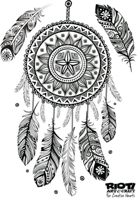 coloring pages for adults dreamcatchers dream catcher colouring in colouring pages pinterest