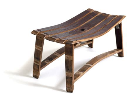 whiskey barrel bench intriguing furniture pieces made out of whiskey barrels