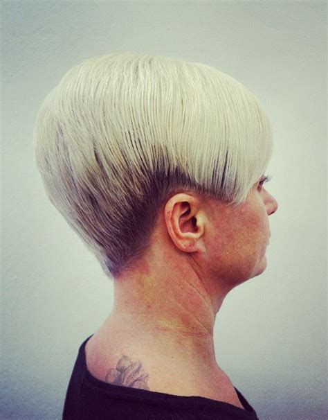 womens tapered short haircuts short tapered womens back view of tapered haircut short