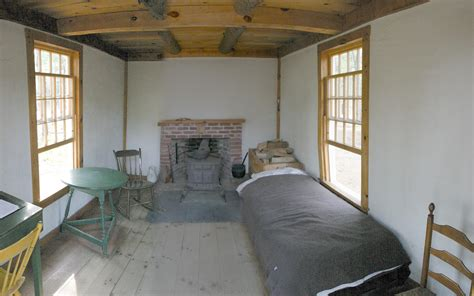 Thoreaus Cabin by File Thoreau S Cabin Inside Jpg
