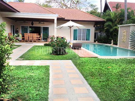 3 bedroom villas in phuket raw6359 3 bedroom private pool villa in rawai phuket