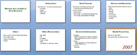 How To Create An Appendix In Powerpoint 2010 Howsto Co How To Make Ppt Template 2007