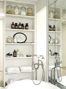 bathroom shelving and storage triangle re bath create a 1920s vintage bathroom design